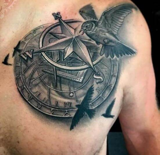 compass-tattoos
