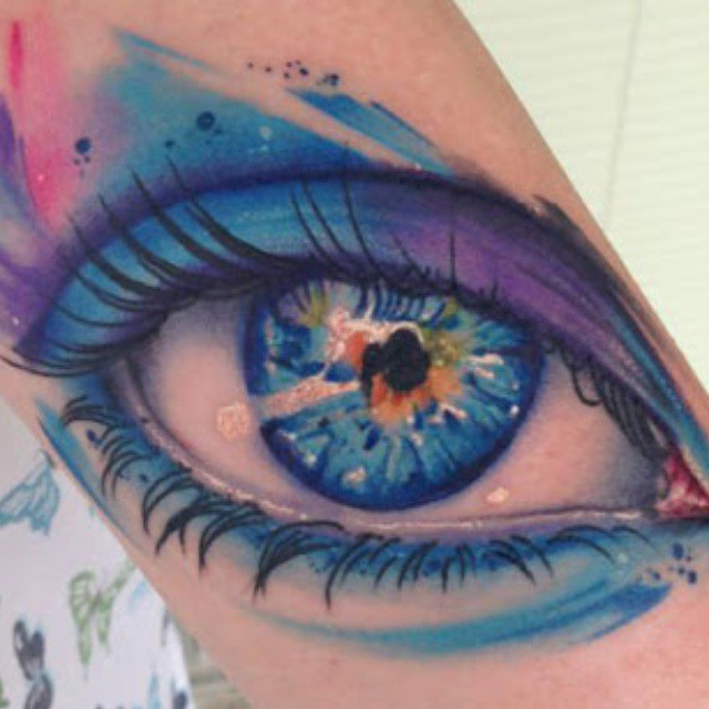 125+ awesome Eye tattoos [2019 Designs]