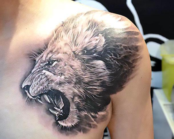 125 Best Lion Tattoos for You with Meaning