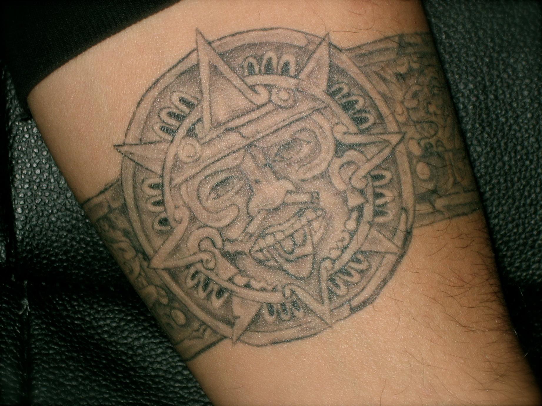 Aztec Temple Tattoo 55+ ancient mesoamerican aztec tattoo design ideas and