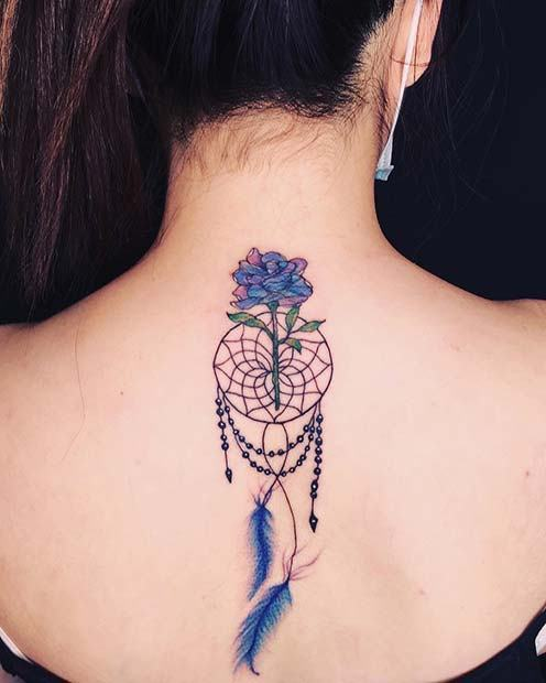 12+ Most Magical Dream catcher tattoo ideas with meanings