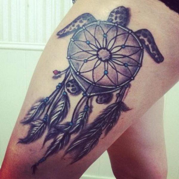 dream-catcher-tattoos