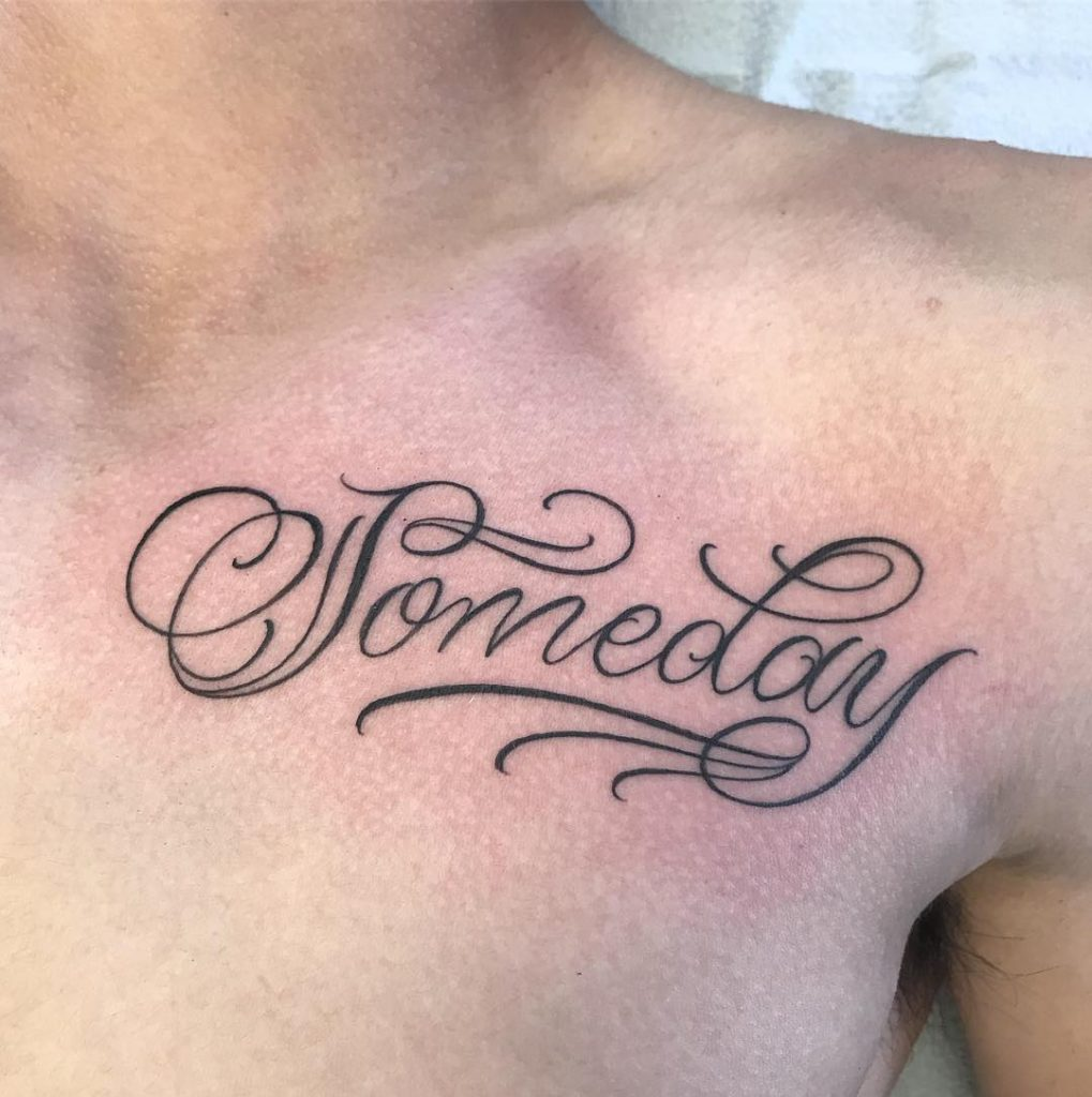 The most stylish and traditional fonts tattoos to write your own thoughts