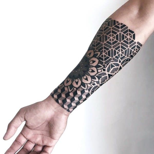 235+ Finest Geometric pattern tattoo ideas with meanings