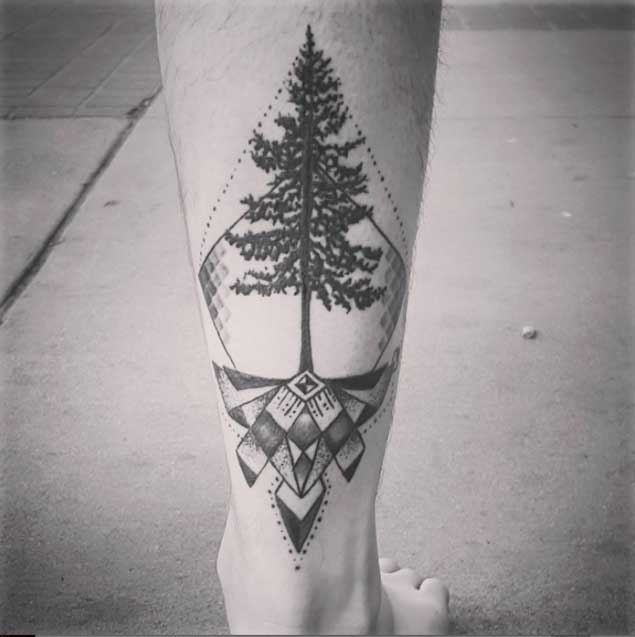 geometric-tattoos