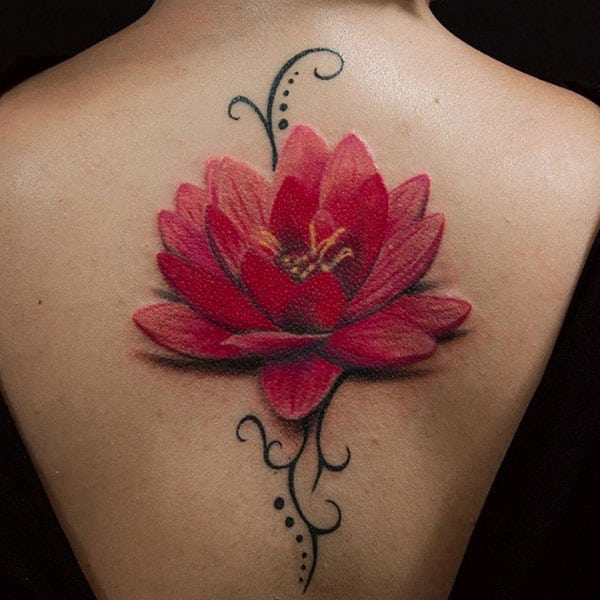 The Best lotus flower tattoos to make elegant and rich look