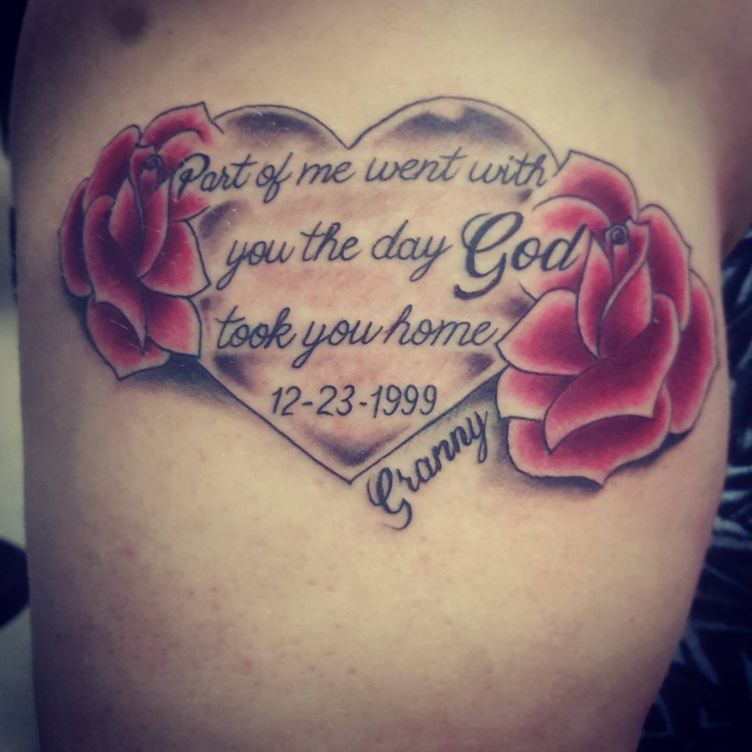 105 Best Memorial Tattoo Designs For The Memory Of A Lovable