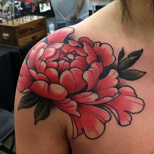 150 Beautiful Peony Tattoo Ideas and Designs for Bodies