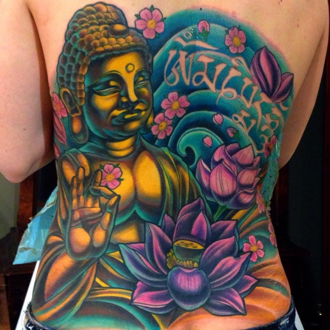 125 Holy Buddha tattoo symbols and their holy meanings
