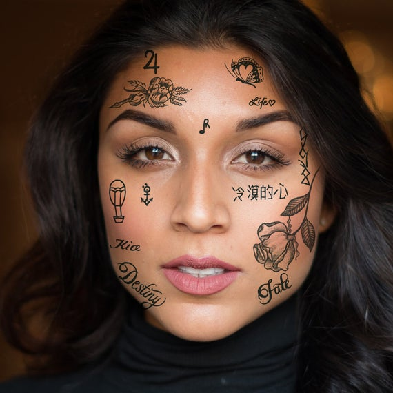 167 Face Tattoo Ideas You Must Consider to Wear