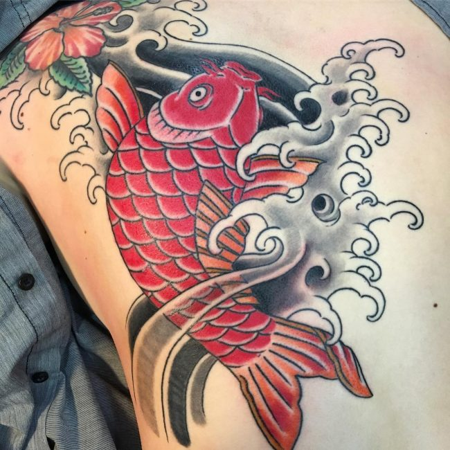 85+ Excellent koi fish tattoo with stunning design ideas