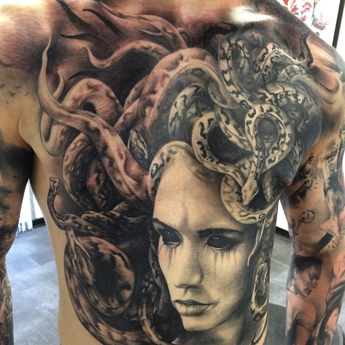 30+ Scary medusa tattoos design ideas and placement tips