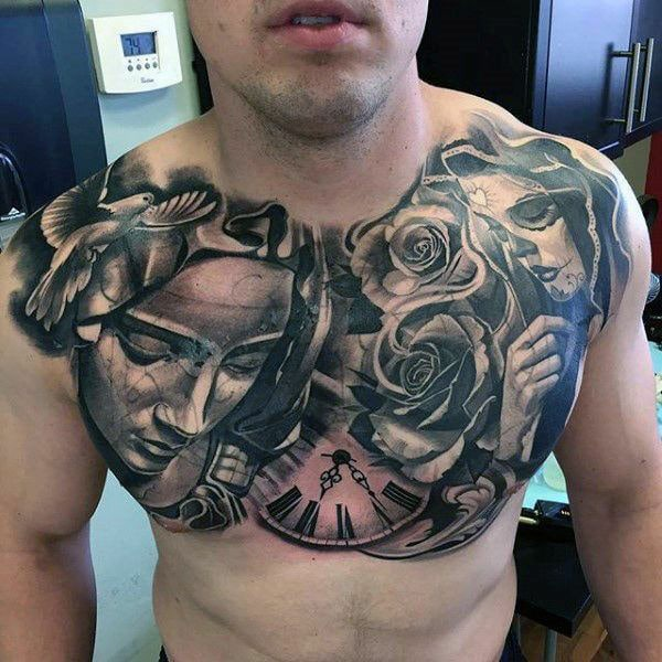 145 Chest tattoos for men: All thing you need to know