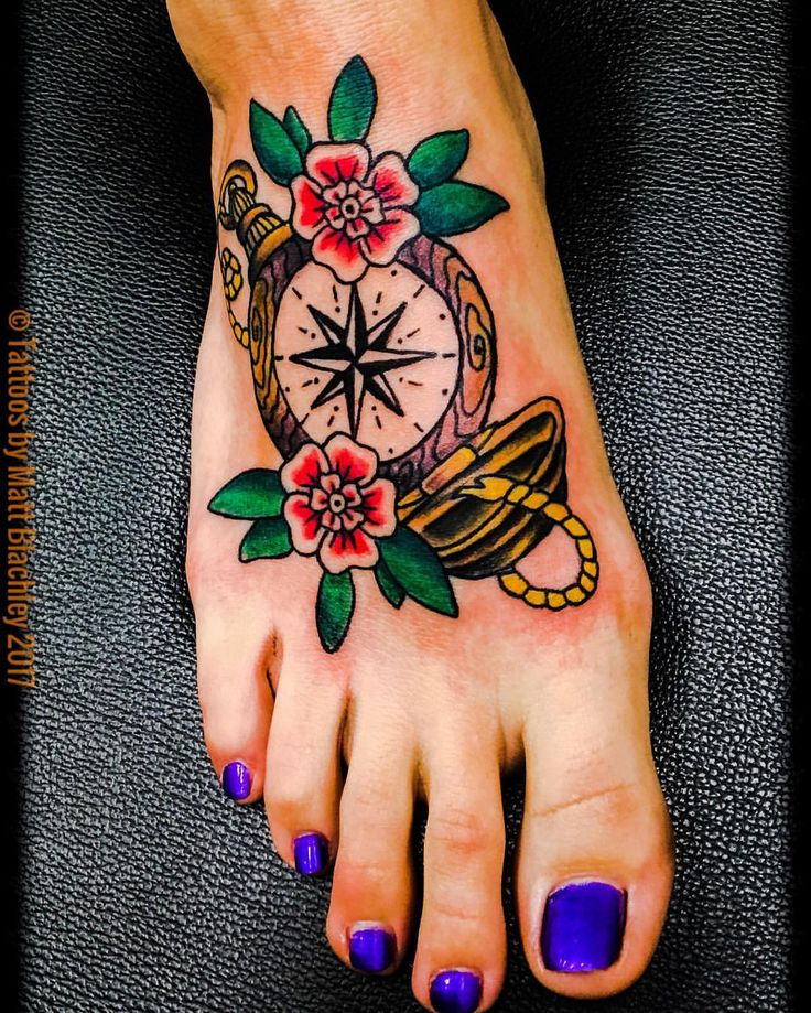 210+ Foot Tattoos Ideas: That Will Make You More Beautiful
