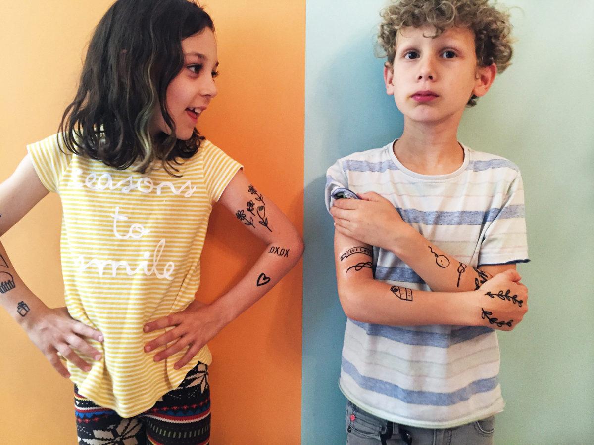 kids tattoos