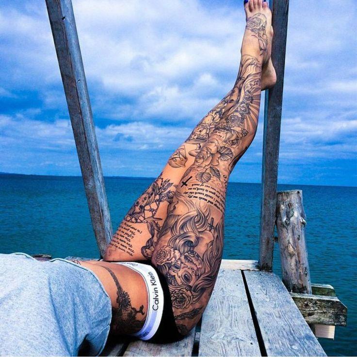 70+ Leg Tattoo Ideas: Tips For Get Better Design