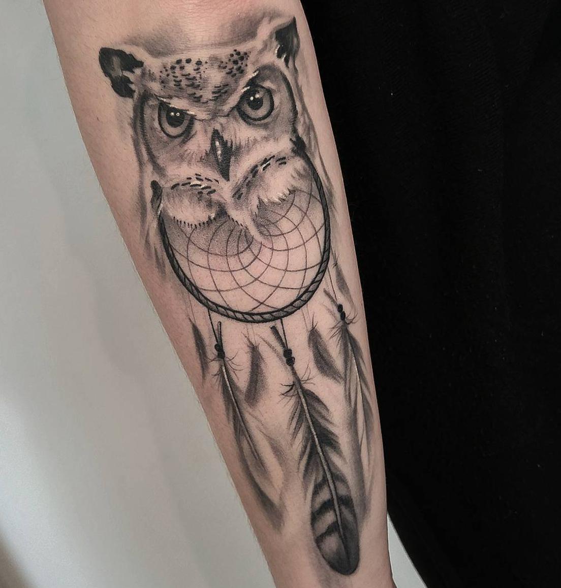 owl-tattoos