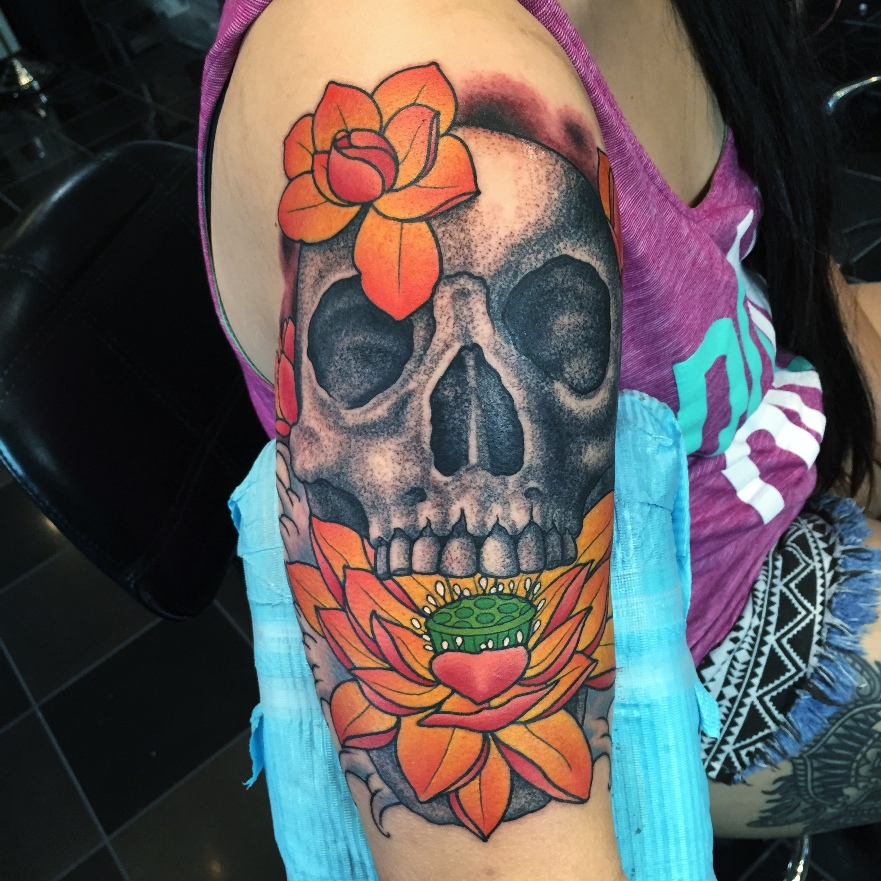 Top 130+ Skull Tattoos You Can Choose For