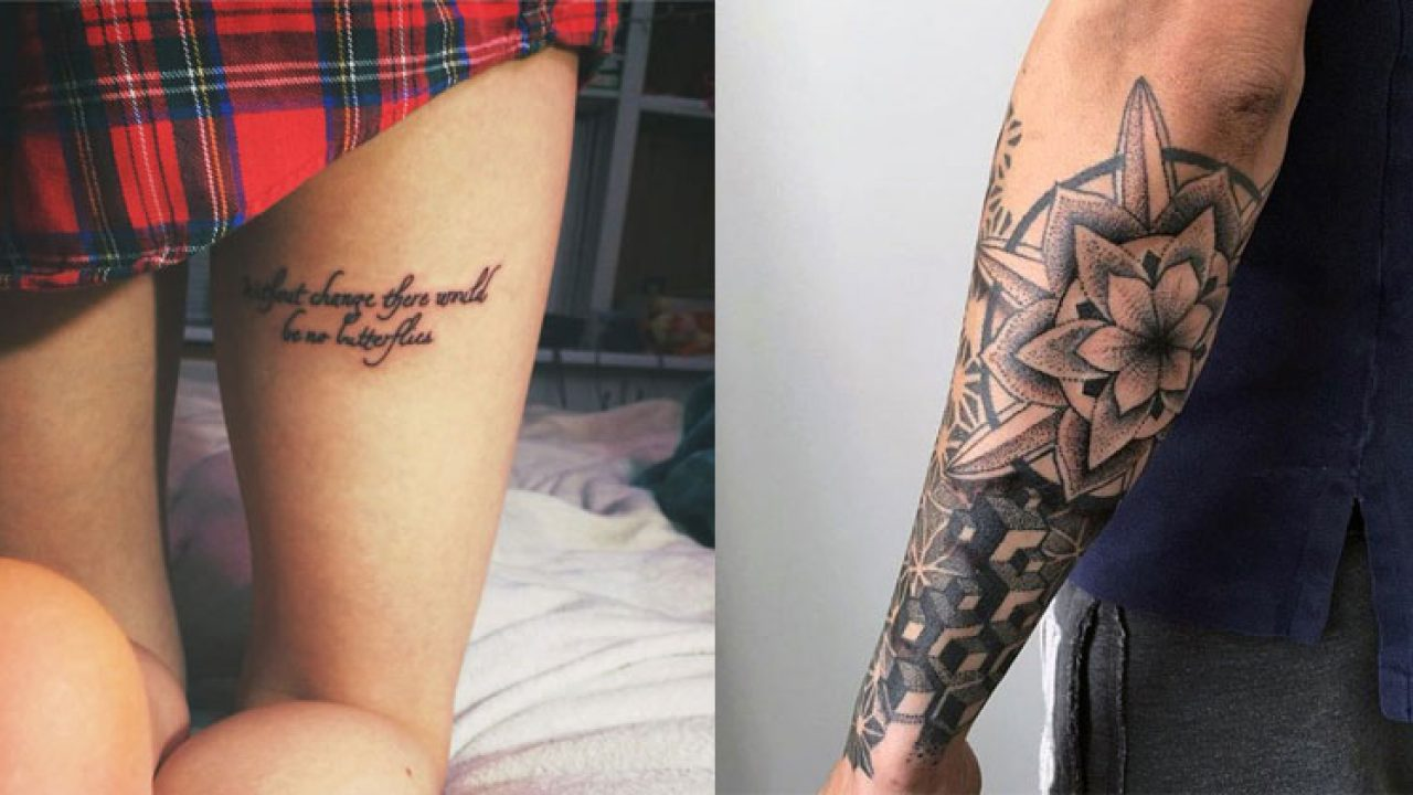 150+ Inspiring Tattoo Placements and Ideas