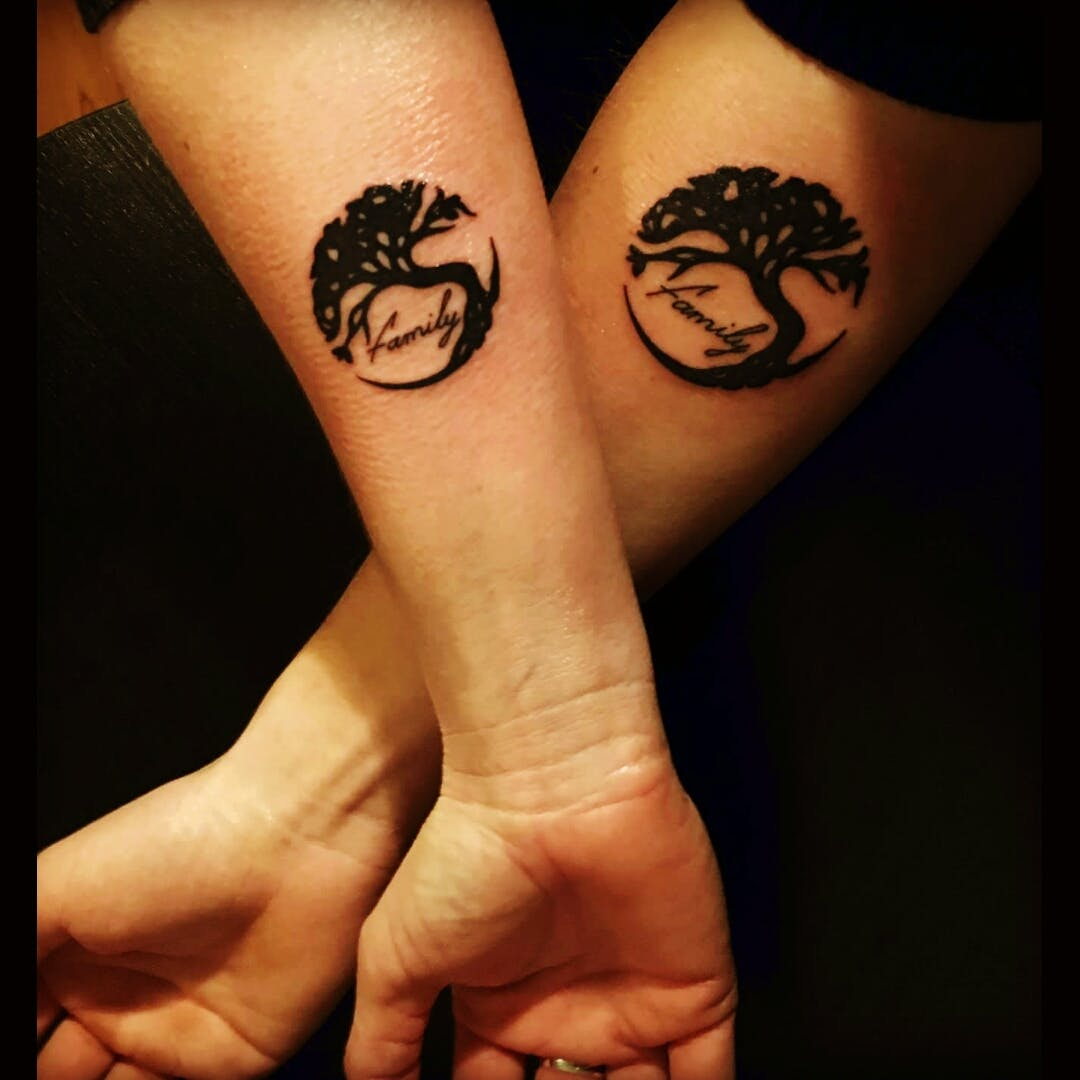 brother and sister-tattoos