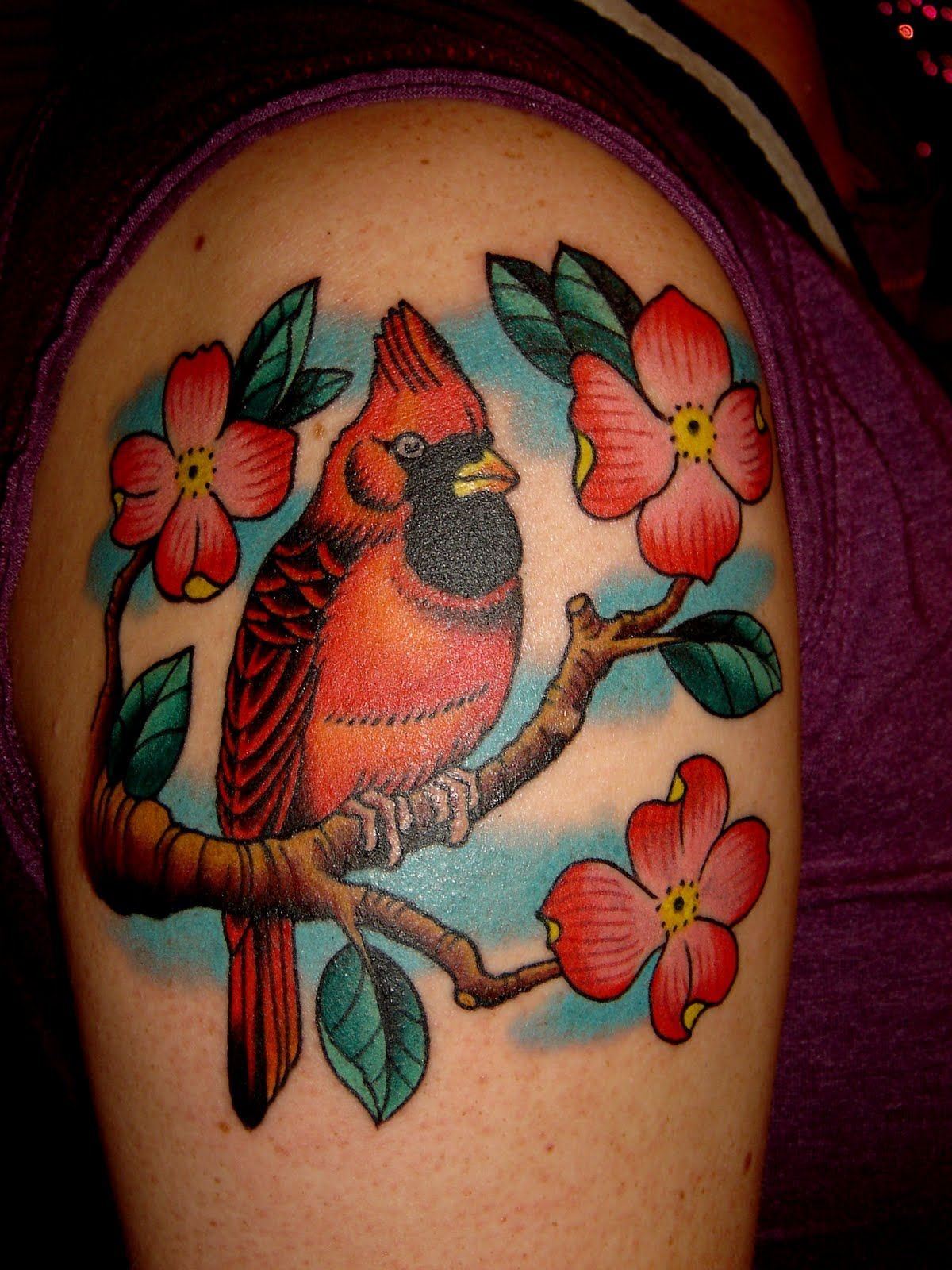 Fantastic cardinal Tattoo Ideas for Men & Women