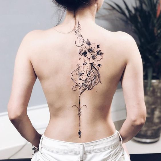 Stylish Back Tattoo designs and Placement ideas for Elegant Girls