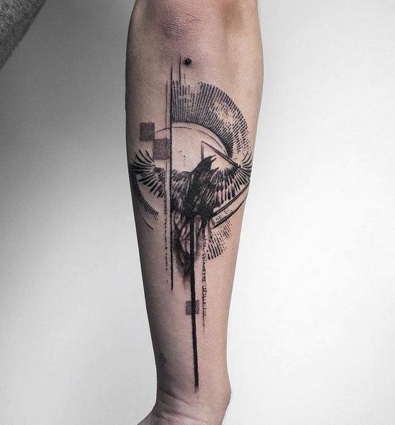 crow-tattoo
