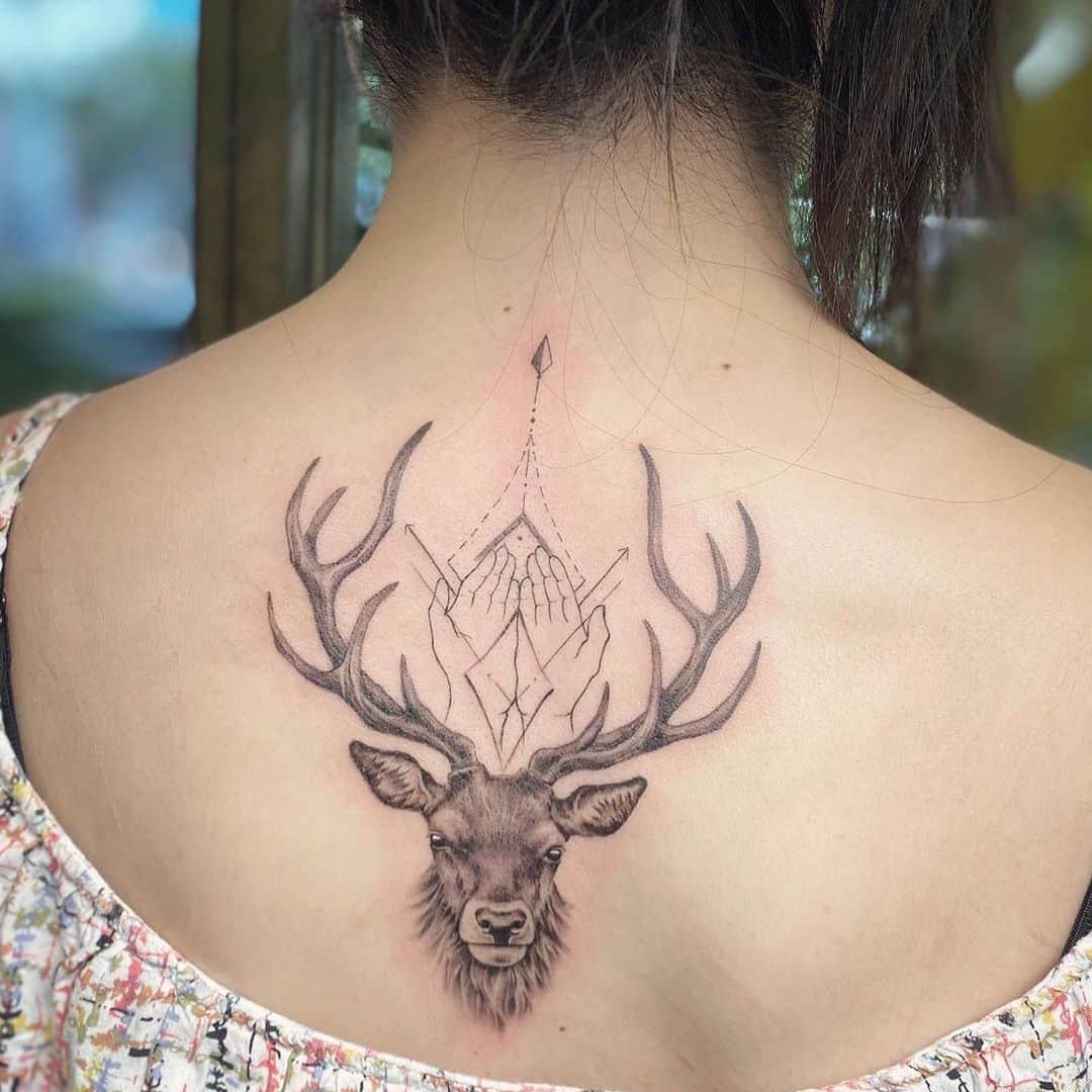 deer-tattoos
