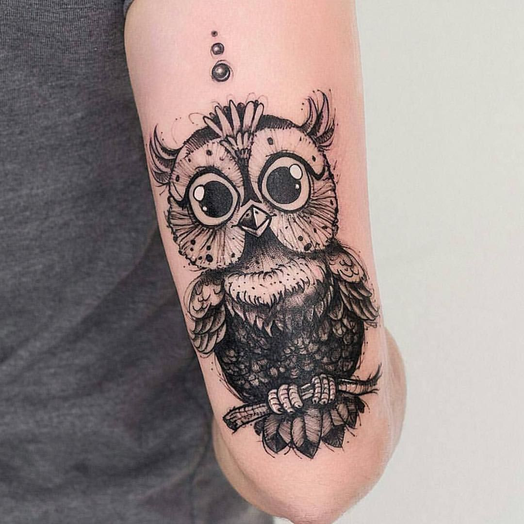Stunning Top Rated Owl Tattoo Images with meanings