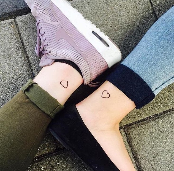 Beautifully designed best friend tattoo images to explore your love for your friends