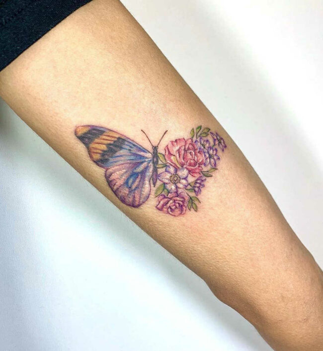 Wonderful and elegant Butterfly tattoo ideas for both men and women