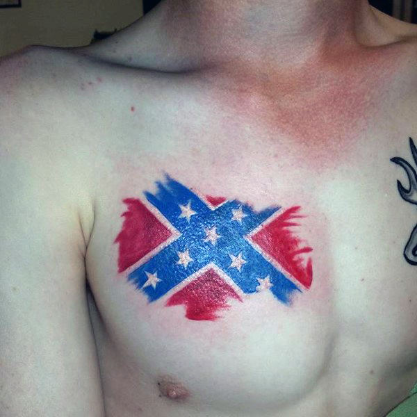 100+ Nation's Pride Rebel Flag tattoo for all