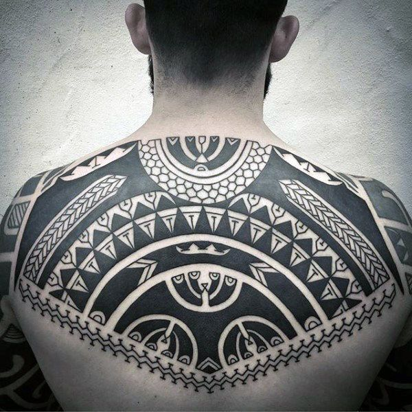 Elegant Look manly tribal tattoo for Men