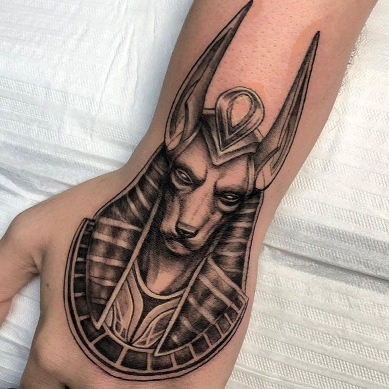 Anubis Tattoo – A Unique Egyptian Tattoo Design