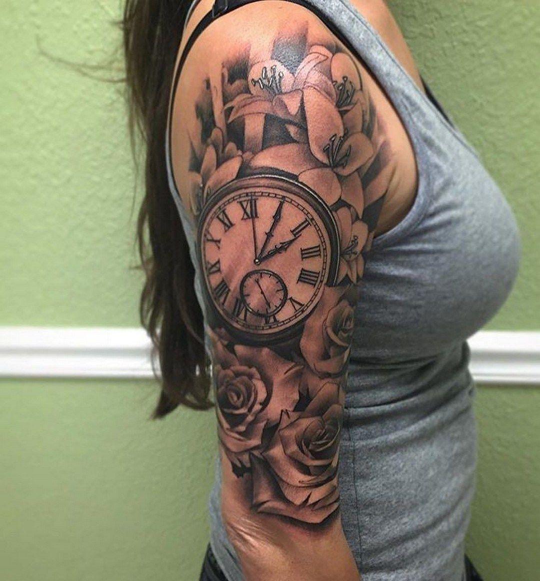 clock-tattoo