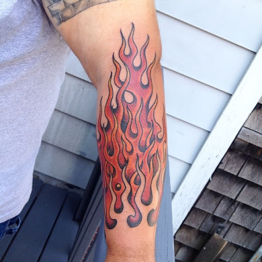 Fire Tattoo Ideas- Different Designs For You