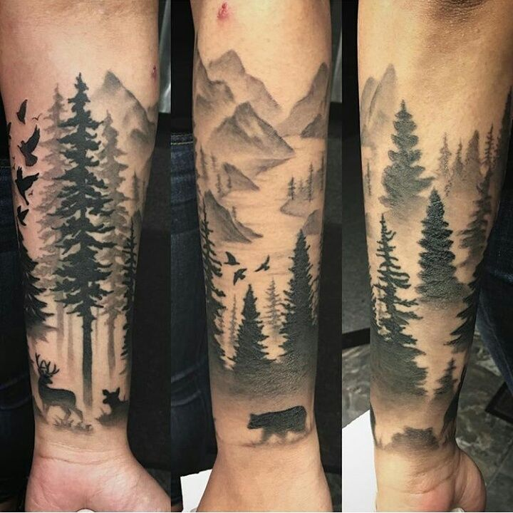 Forest Tattoo Designs – Makes the Most of the Experience