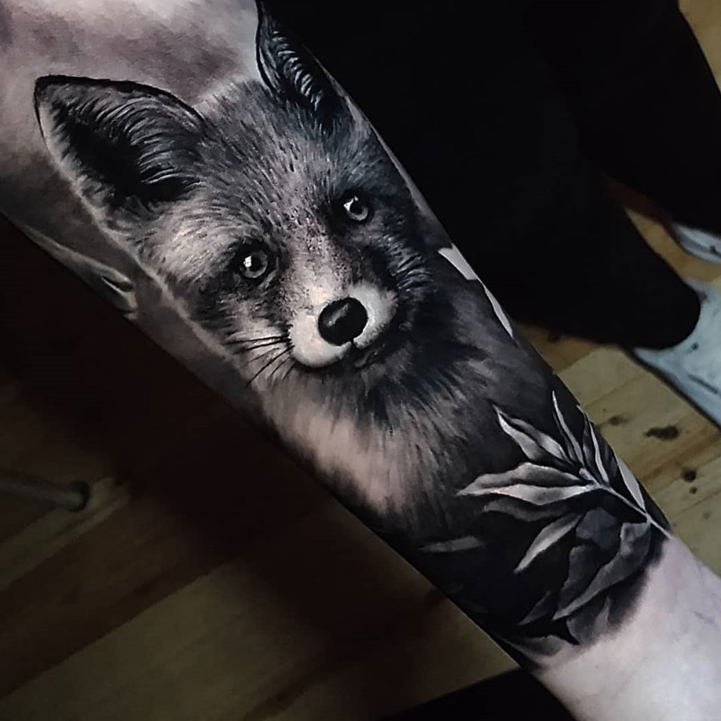 The Many Different Types of the Fox Tattoo Design