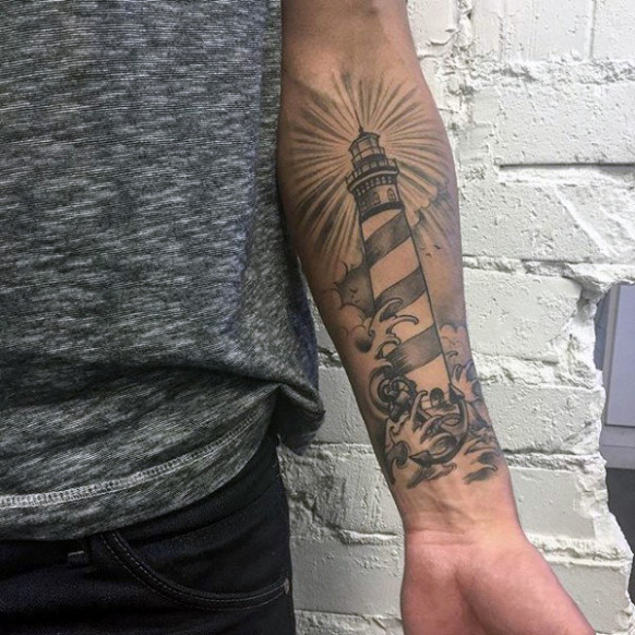 Looking For the Perfect Design? Start With a Lighthouse Tattoo