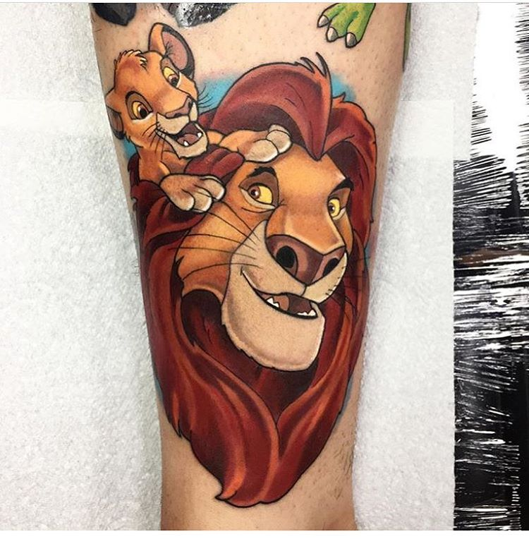 Lion King Tattoo – A Few Ideas to Consider