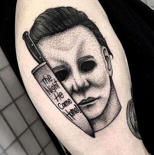 Scary look michael mayer tattoo ideas