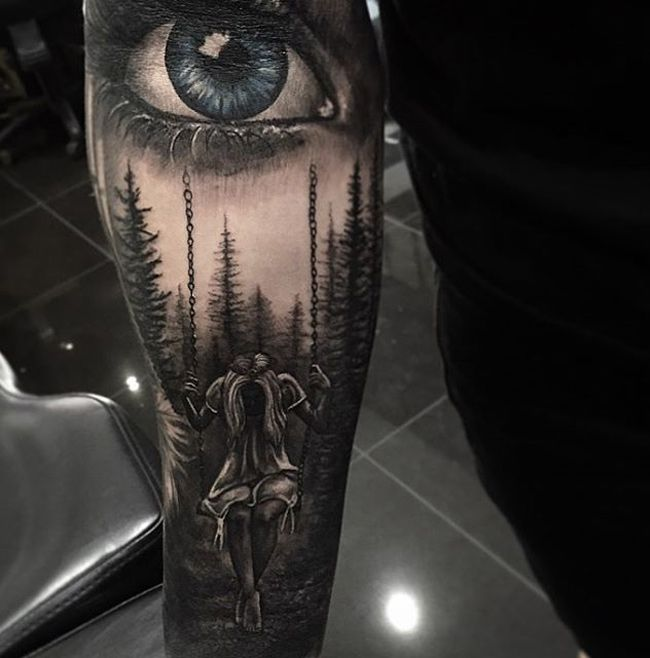 Beautiful and modern realistic tattoo ideas for both boys and girls