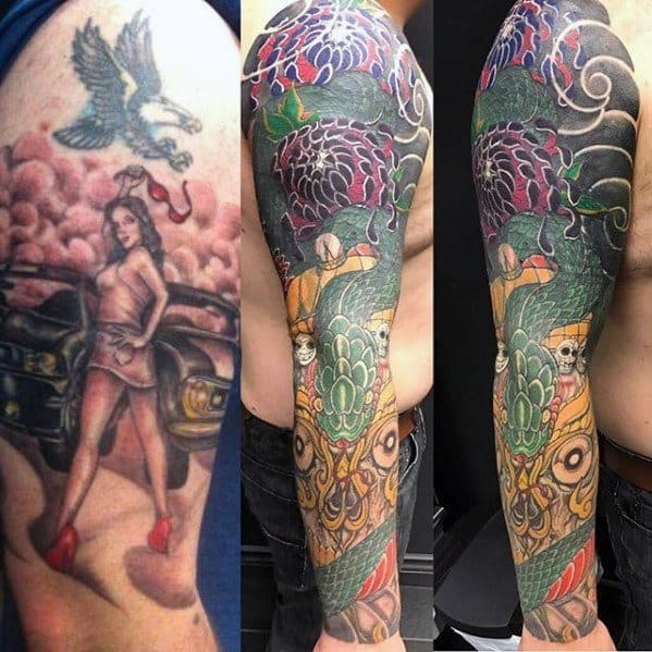 Tips On Getting a Tattoo Cover Up Sleeve