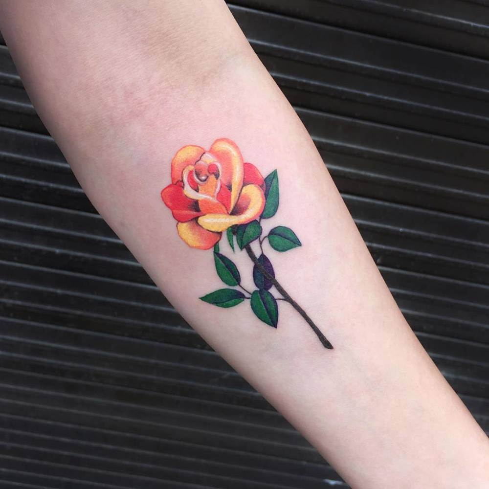 Yellow Rose Tattoo Designs – A Perfect Choice For Romantic Women