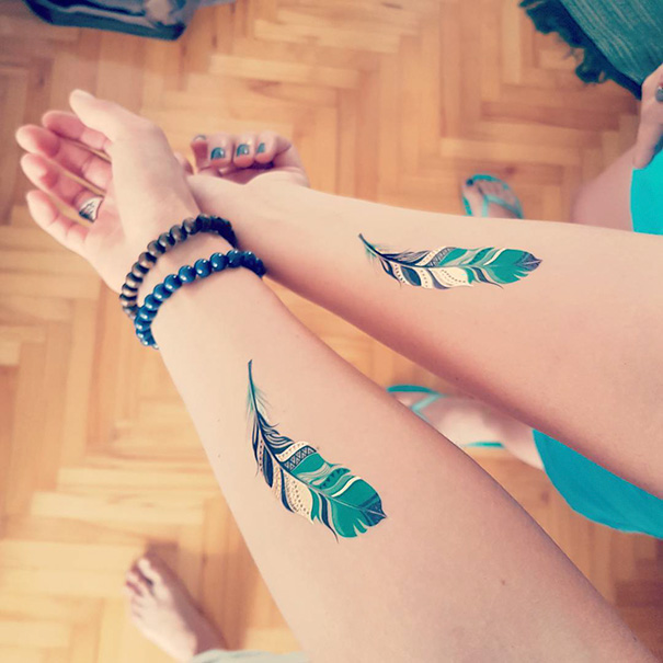 Best friend matching tattoo ideas