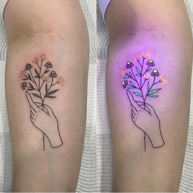 Black Light Tattoo and Their Symbolism