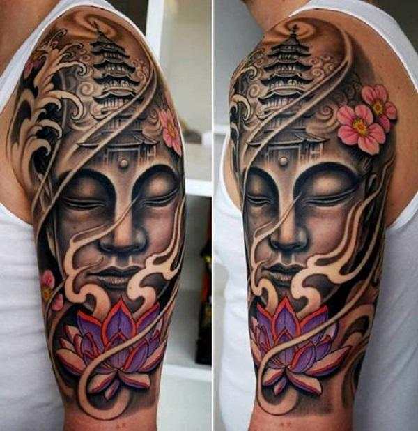 Ever changing Buddha tattoo designs