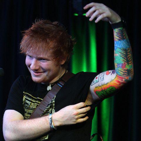 Ed Sheeran Tattoos – The Popular Choice Among Rock Stars
