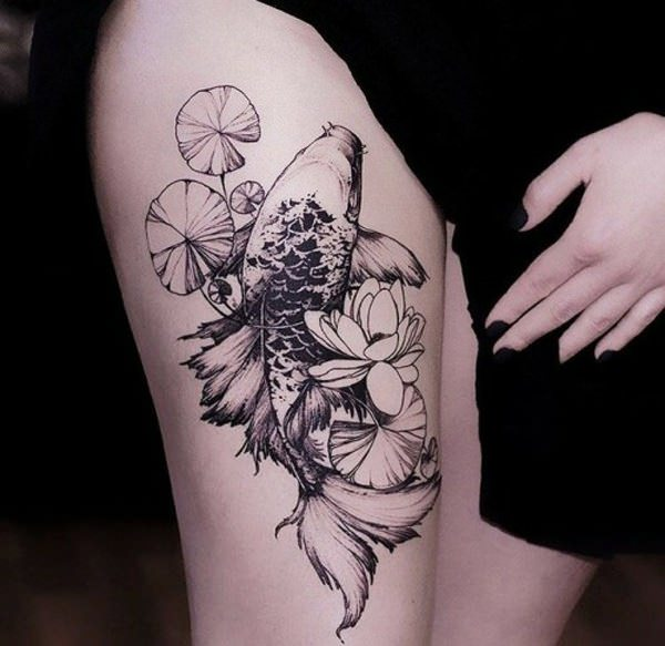 Koi Fish Tattoo Designs – Makes Your Ink Stand Out