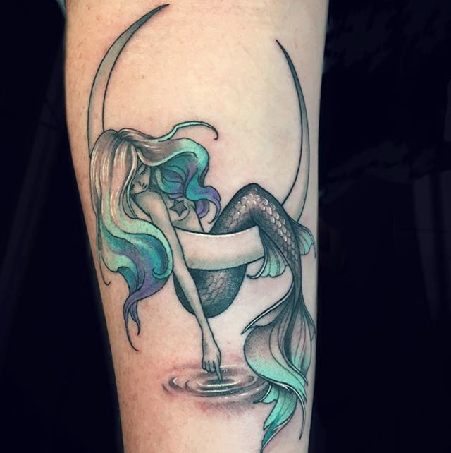 Mermaid Tattoo Symbols – Finding the Best Design For Your Tattoo